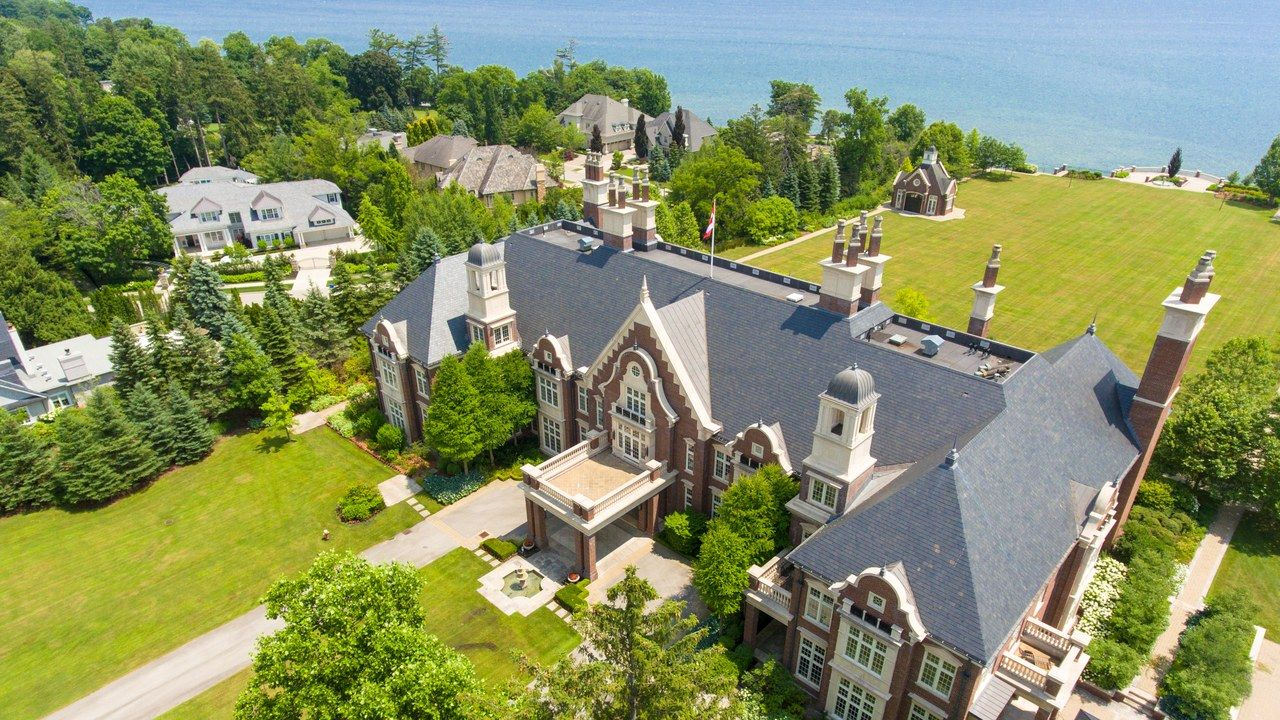 Canada S Most Expensive Home On The Market Has 42 Parking