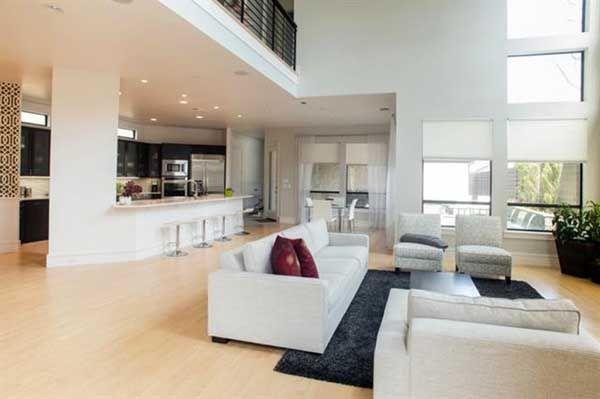 maison toit plat contemporaine Contemporary Style House Plans