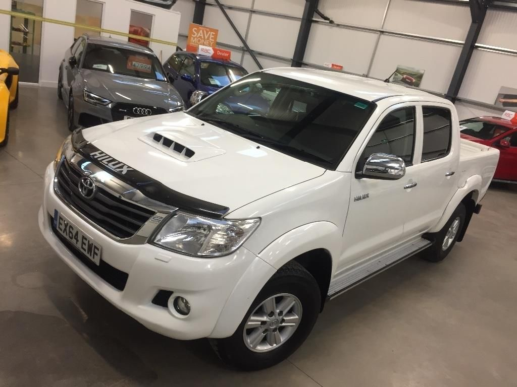 Toyota Hilux 2 5 D 4d Icon Double Cab Pickup 4x4 Toyota Hilux