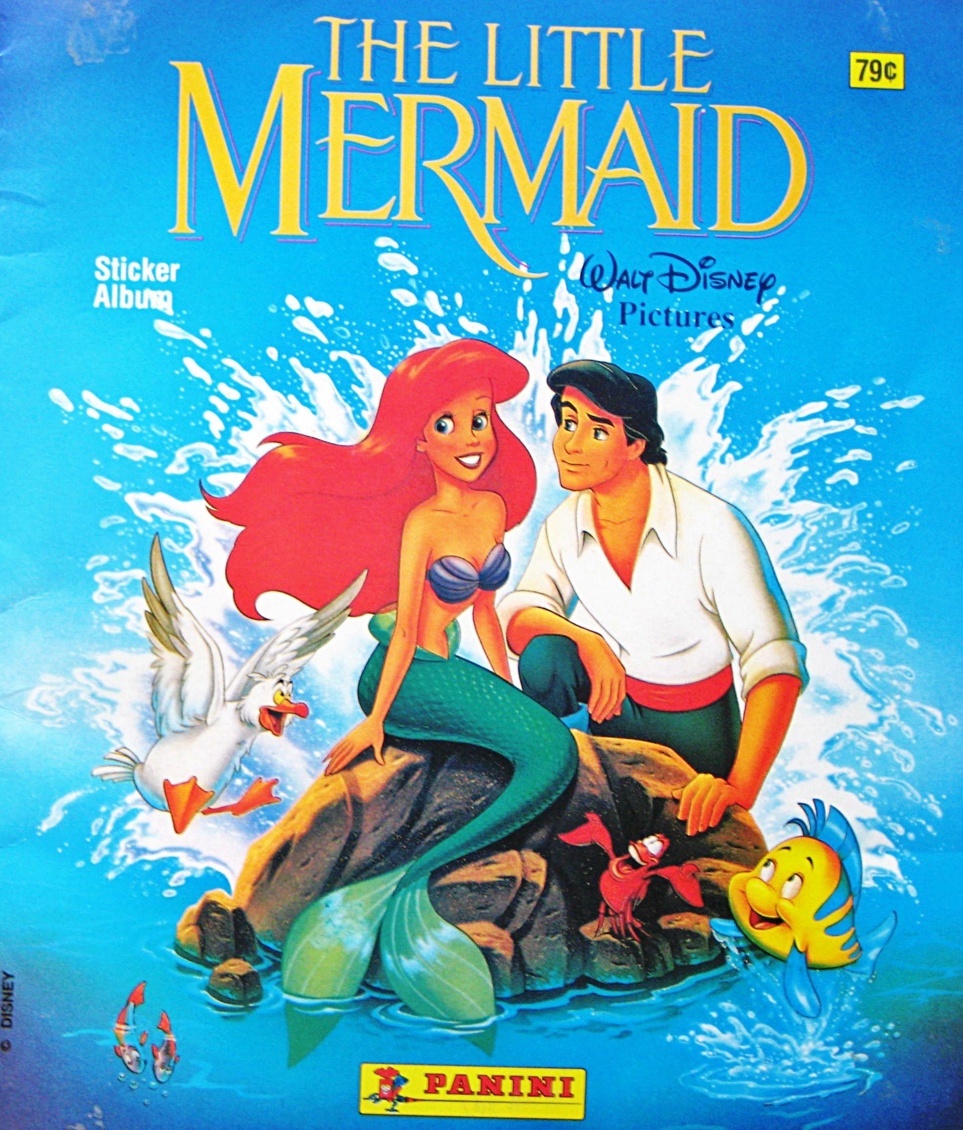 Walt Disney Characters Photo Walt Disney Sticker Albums The Little Mermaid Mermaid Sticker The Little Mermaid Mermaid Poster [ 2304 x 1965 Pixel ]