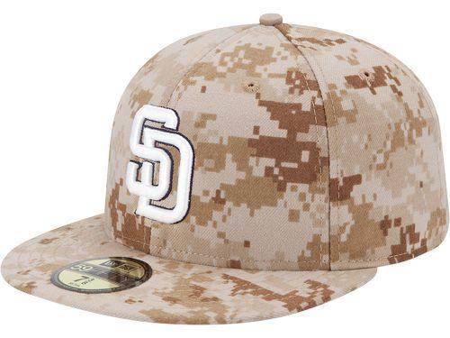 San Diego Padres New Era MLB 2013 Memorial Day Stars   Stripes 59FIFTY Cap  Hats 060dc3f7155