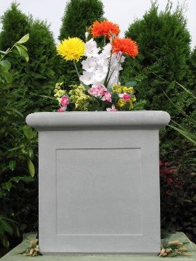 The Cast Stone Process Used Produces Creative Designs That Are More Durable  Than Concrete Garden Planters