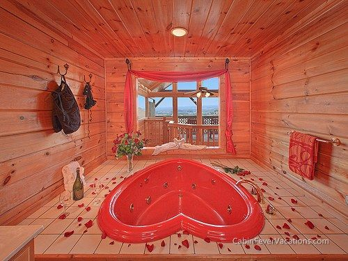 Romance Awaits You In This Amazing Smoky Mountain Rental Cabin Near  Gatlinburg And Pigeon Forge,