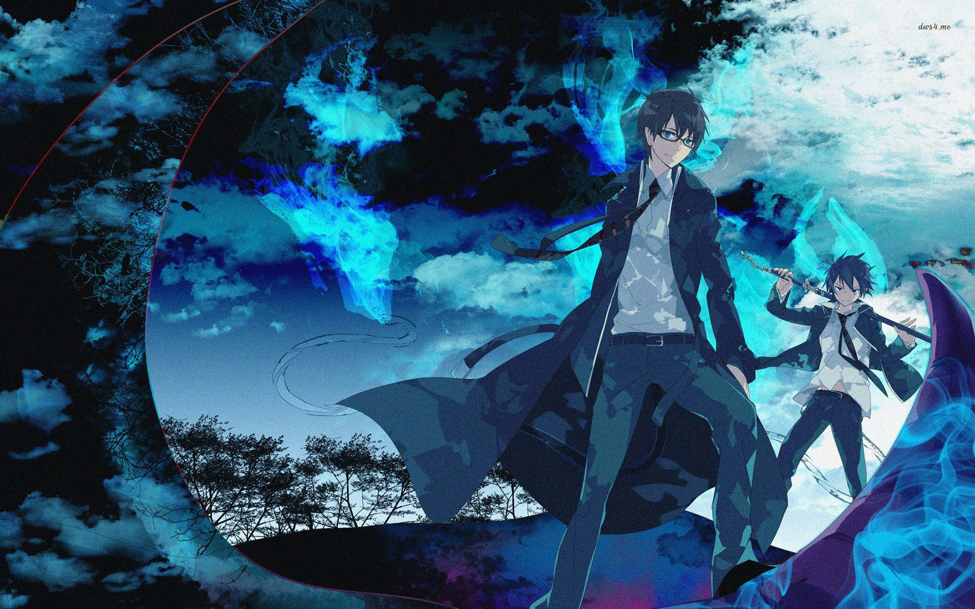 Click On The Image For High Quality Anime Merchandise Https Www Animeshirtclub Com Anime Naruto Animequotes An Anime Wallpaper Blue Exorcist Anime Shadow