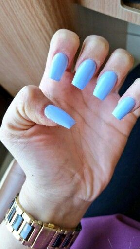 mine #essie #acrylics #narrow #nails | nails | Pinterest | Makeup