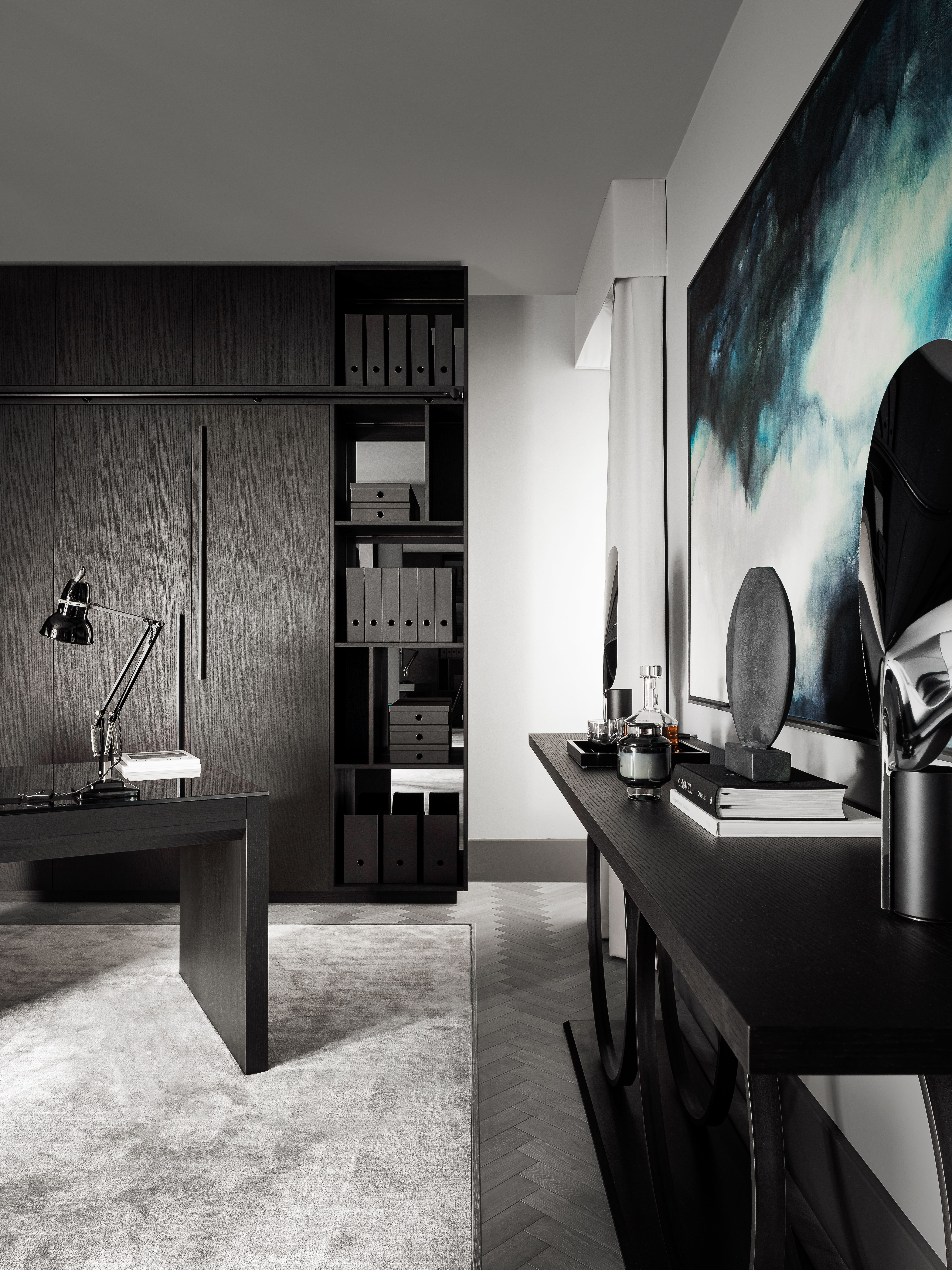 Bespoke Luxury Residential Study By Rachel Usher Interior Design
