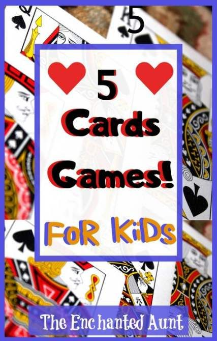 16 trendy card games for kids easy games  fun card games