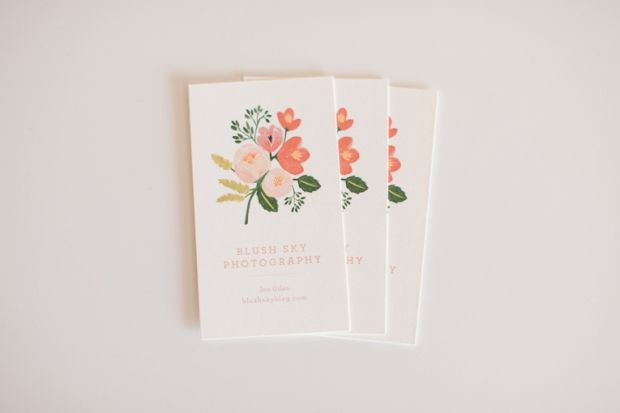 Floral Business Cards Floral Business Cards Business Card