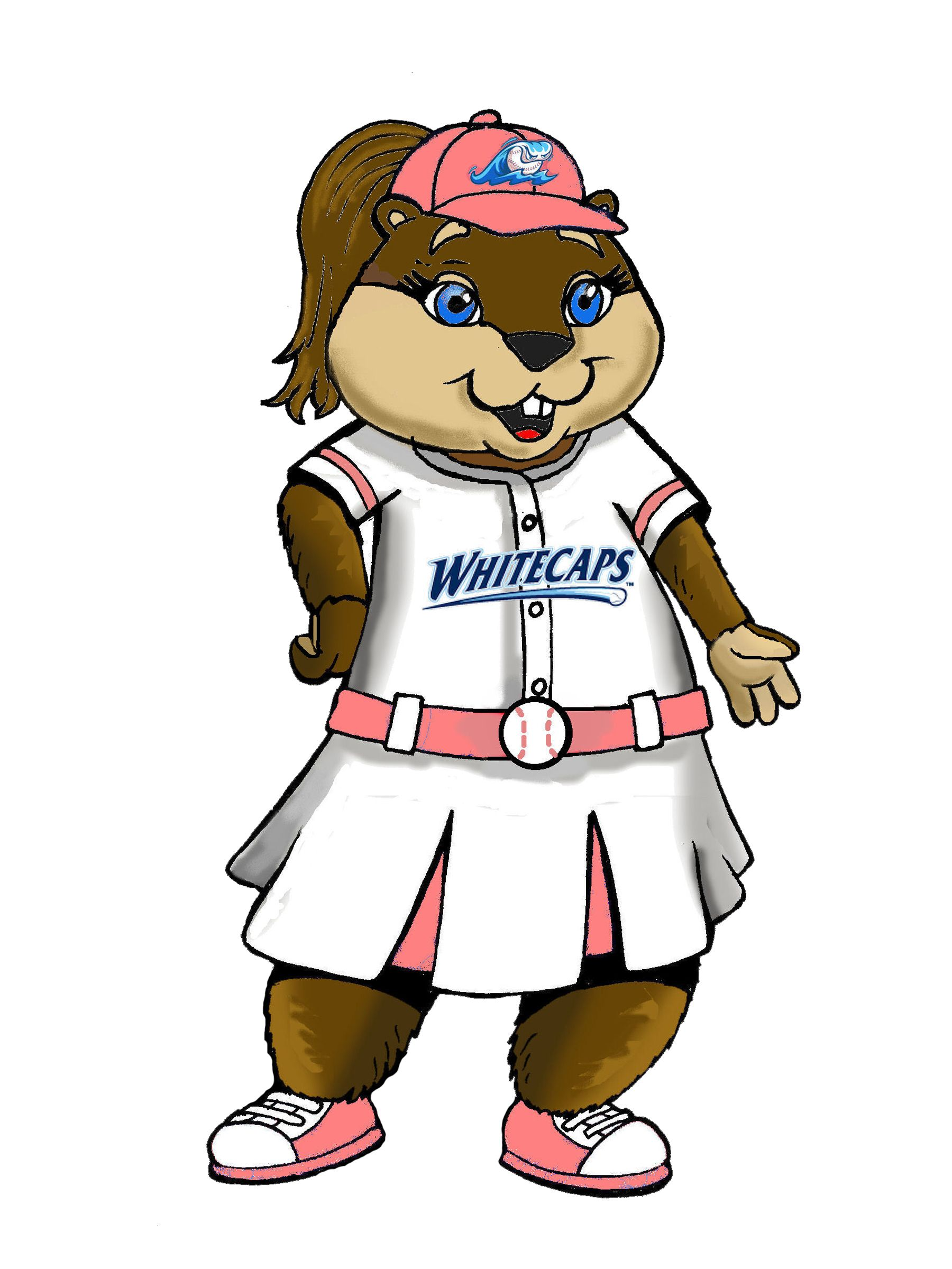 Roxy the River Rascal West Michigan Whitecaps Content