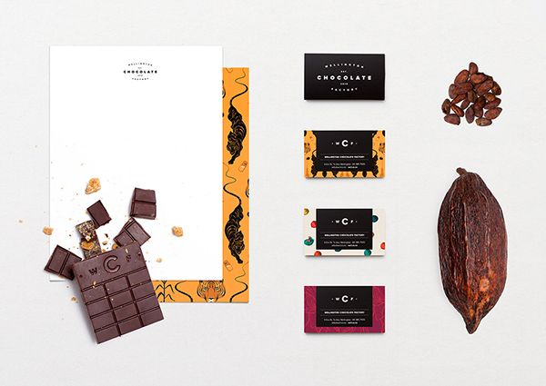 Wellington Chocolate Factory on Behance