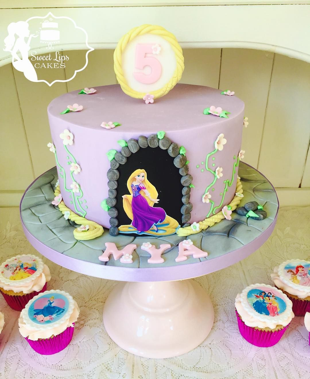Rapunzel princess fan Mya celebrates her 5th birthday with this