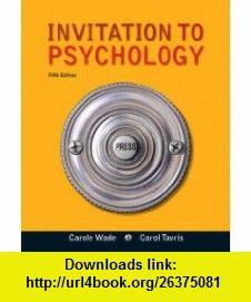 Invitation to psychology 5th edition 9780205035199 carole wade invitation to psychology 5th edition 9780205035199 carole wade carol tavris fandeluxe Gallery
