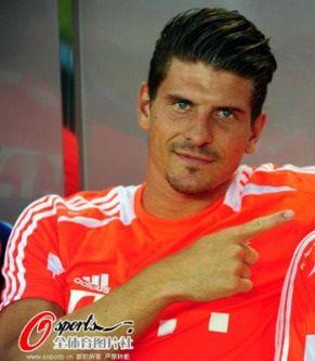 Mario Gomez Bayern Munich Mario Gomez European Football Bayern Munich