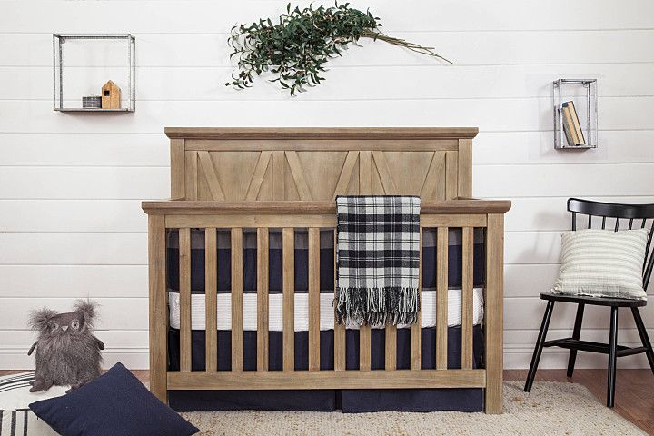 Franklin Ben Emory Farmhouse 4 In 1 Crib Driftwood