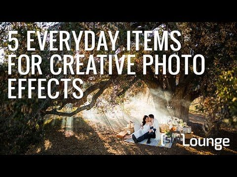 5 Everyday Items For Creative Photo Effects
