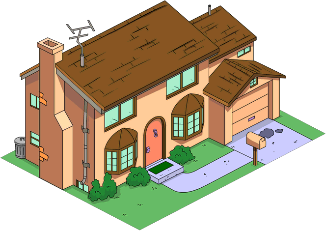 Simpson House The Simpsons Simpsons Characters The Simpsons Movie
