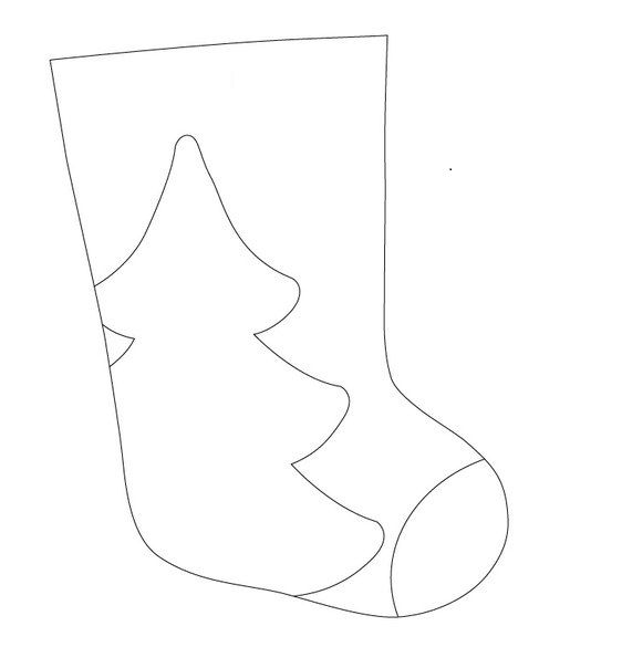 molde de botas navideñas grandes | Navidad | Pinterest | Navidad ...