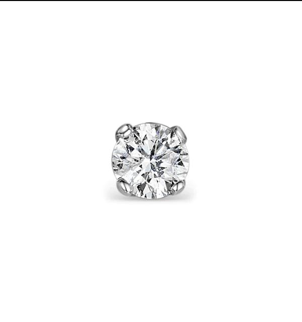 Single Stud Diamond Earring 0 25ct Premium Quality 18kw Gold 4 1mm Item Fg23 47rmyu Mens Diamond Earrings Diamond Earrings Studs Diamond Studs