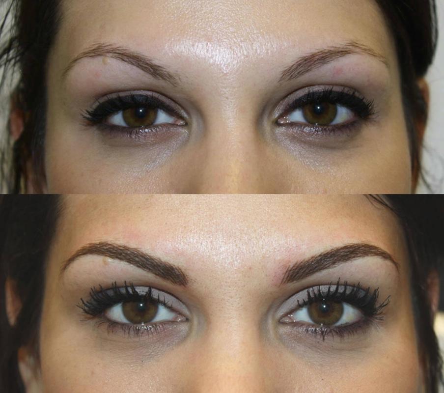 ZoeMilanStudios Microblading eyebrows, Permanent makeup