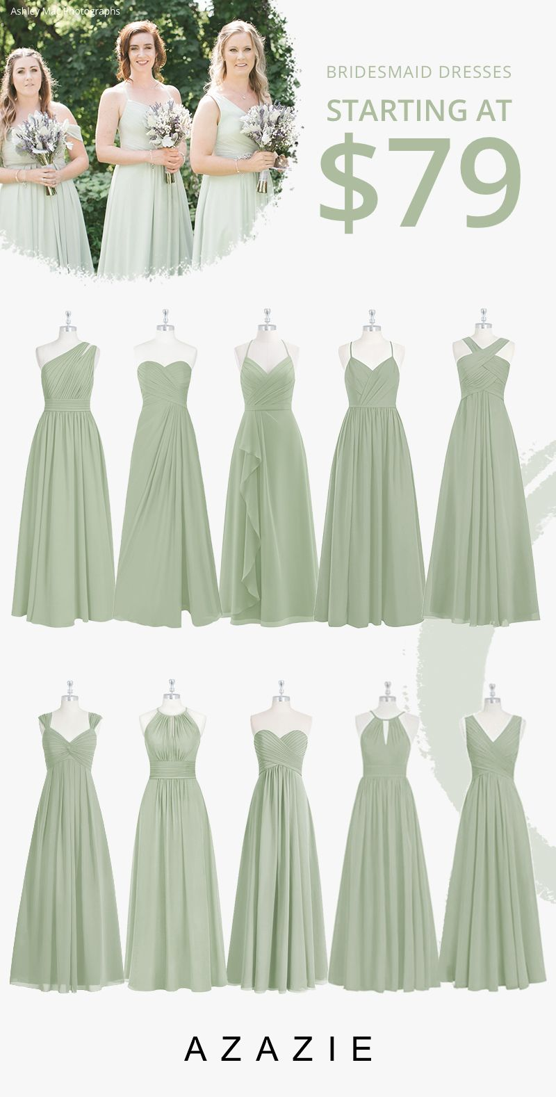 Dusty Sage Bridesmaid Dresses In 2020 Sage Bridesmaid Dresses Bridesmaid Dresses Dusty Sage Sage Green Bridesmaid Dress