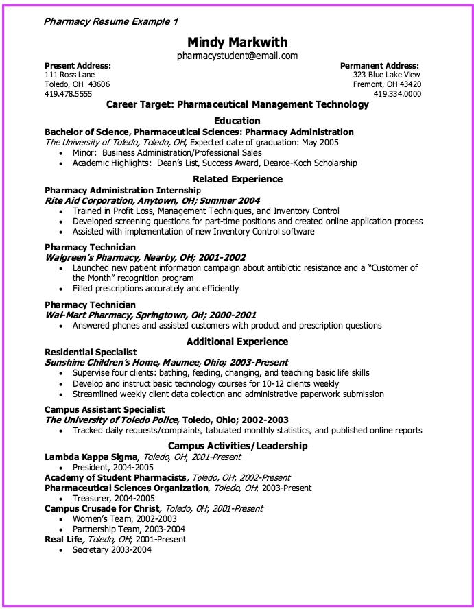 pharmacist resume example httpexampleresumecvorgpharmacist resume example - Pharmacist Resume Example