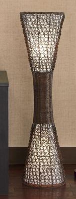 Wicker Floor lamp - $119.95