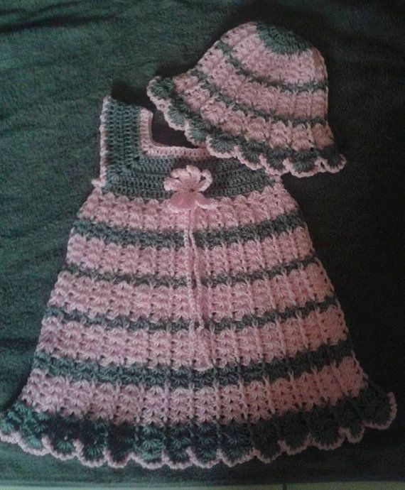 Crochetbabydresspatternfor18monthsbyinnovativecrochetart