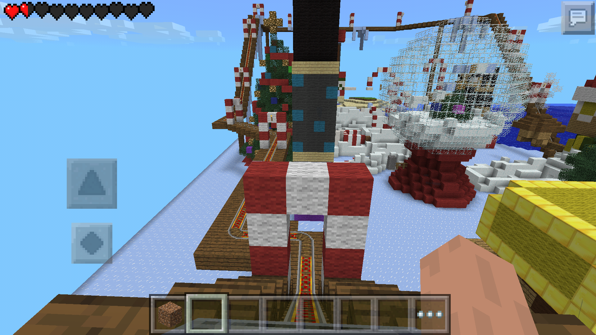 Minecraft Christmas Map.A Very Parkour Christmas Map Minecraft Pocket Edition