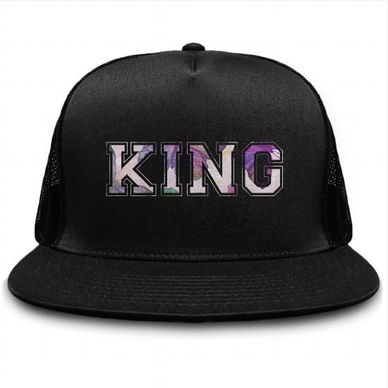Personalized King And Queen Hat - Buy Custom-Designed Classic Trucker Cap - Silverdale Clothing #queenshats
