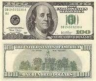 photo relating to Printable 100 Dollar Bill Actual Size called 100 greenback invoice entrance and again genuine dimension - Saferbrowser