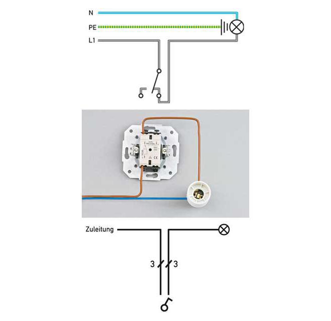 Lichtschalter Anschliessen Schritt 20 Von 22 Lichtschalter Schalter Und Steckdosen Schalter