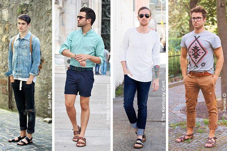 Sandales Homme   Sandales homme, Sandales homme cuir et Mode