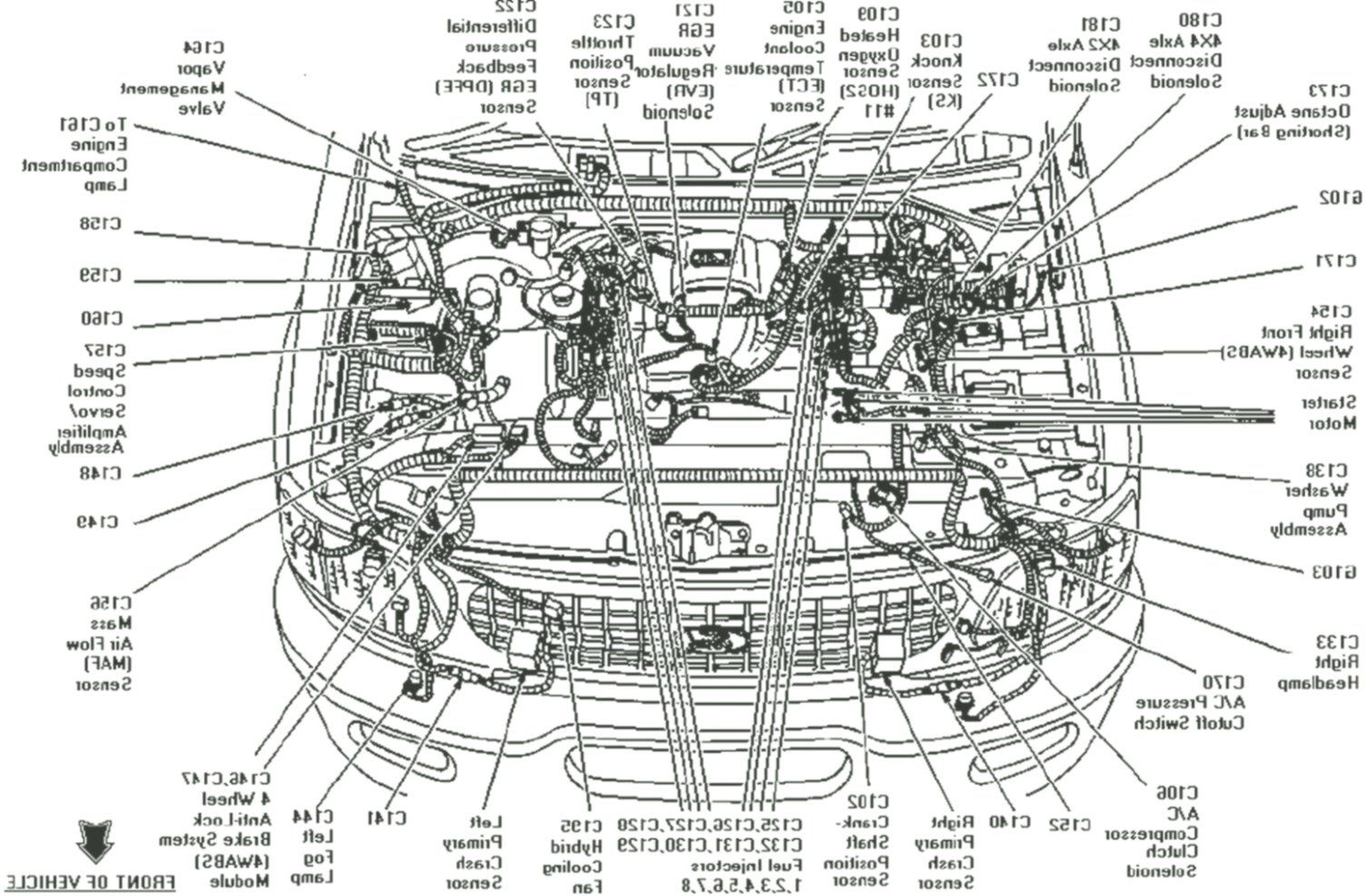 Ford Focus St engine diagram in 2020 | Ford focus st, Ford focus engine, Ford  focusPinterest