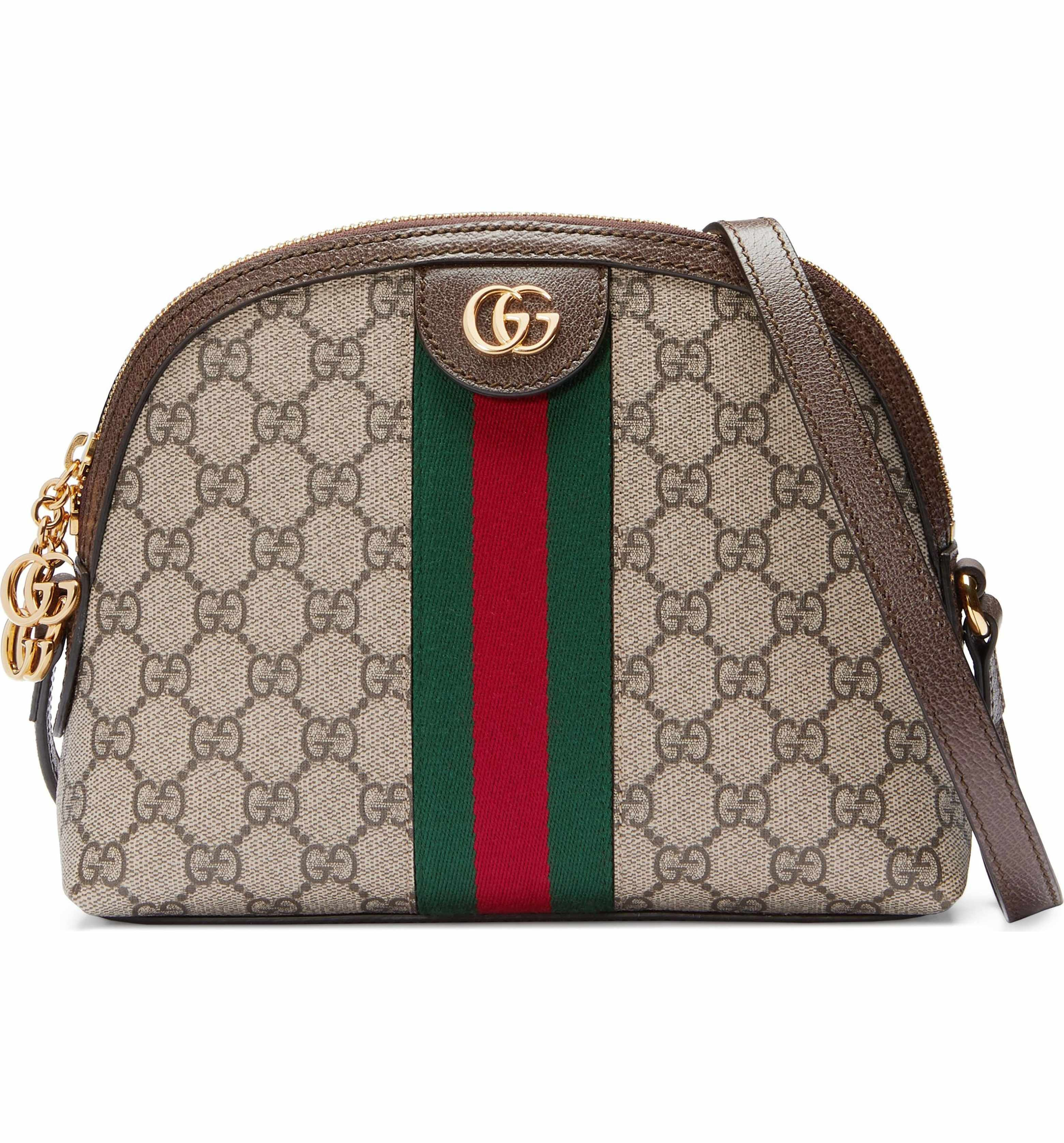 227b19a1b7fe Gucci GG Supreme Canvas Shoulder Bag | Fashion. | Canvas shoulder ...