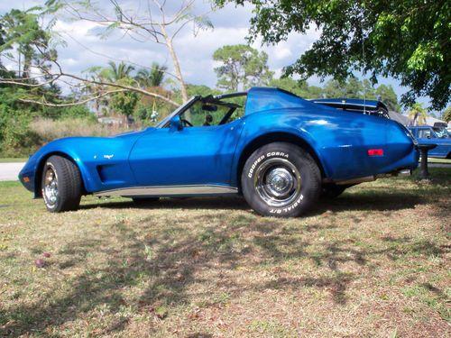 1977 Chevrolet Corvette Lemans Blue Corvette 1977 Corvette