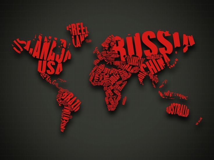 Abstract red text cgi typography world map wallpaper background abstract red text cgi typography world map wallpaper background gumiabroncs Gallery
