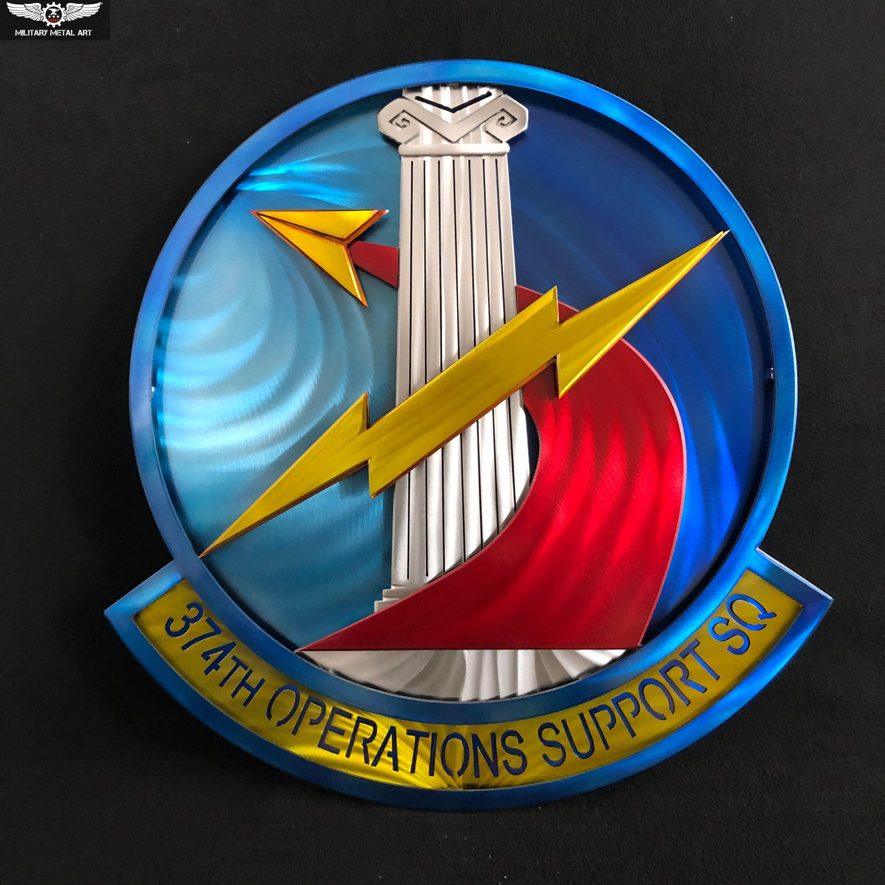 374th Operations Support Squadron   Military artwork ...