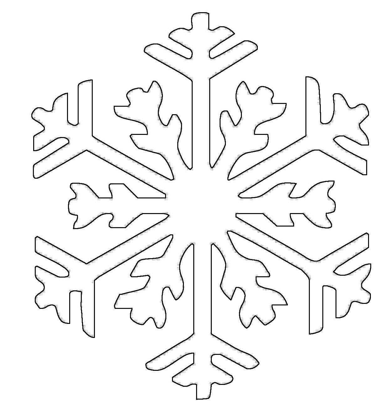 Risultati immagini per schneeflocke ausmalbild | Ünnepek | Pinterest ...