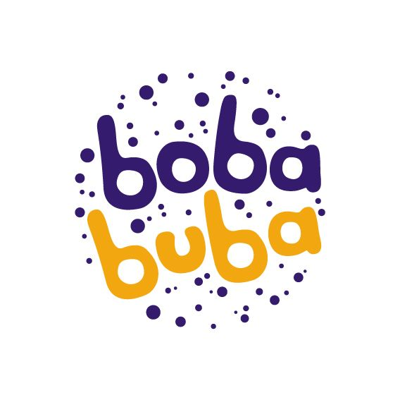 Logo Design For Venezuela Customer Boba Buba Is A Brand Of Tapioca Drinks With A Great Variety Of Flavors And Style 2016 Desain Logo Desain Desain Grafis