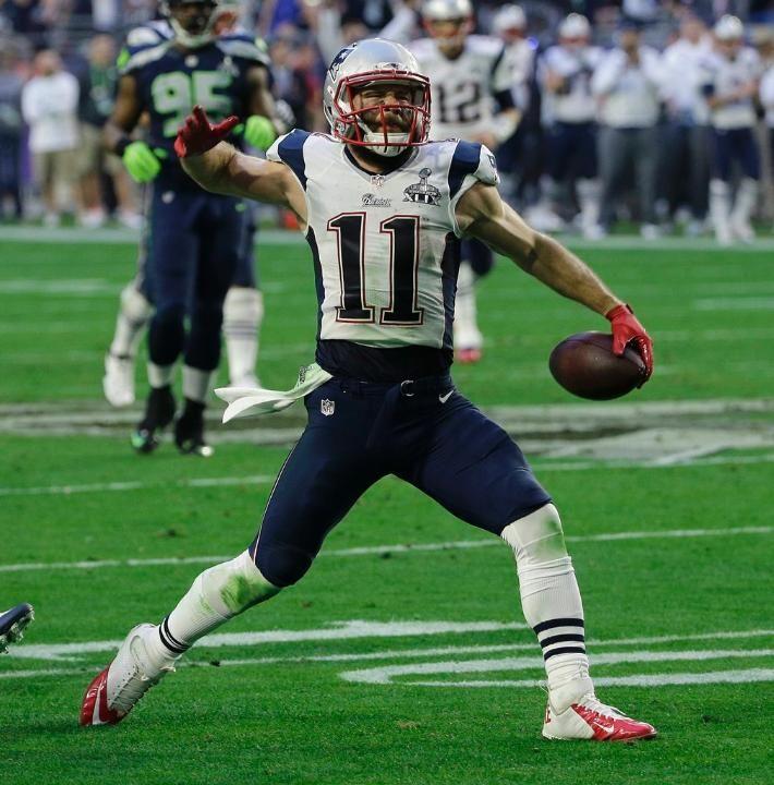 Patriots Vs Seahawks Super Bowl Xlix New England Patriots Logo New England Patriots Julian Edelman