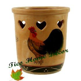Bon Rooster Kitchen Utensil Holder