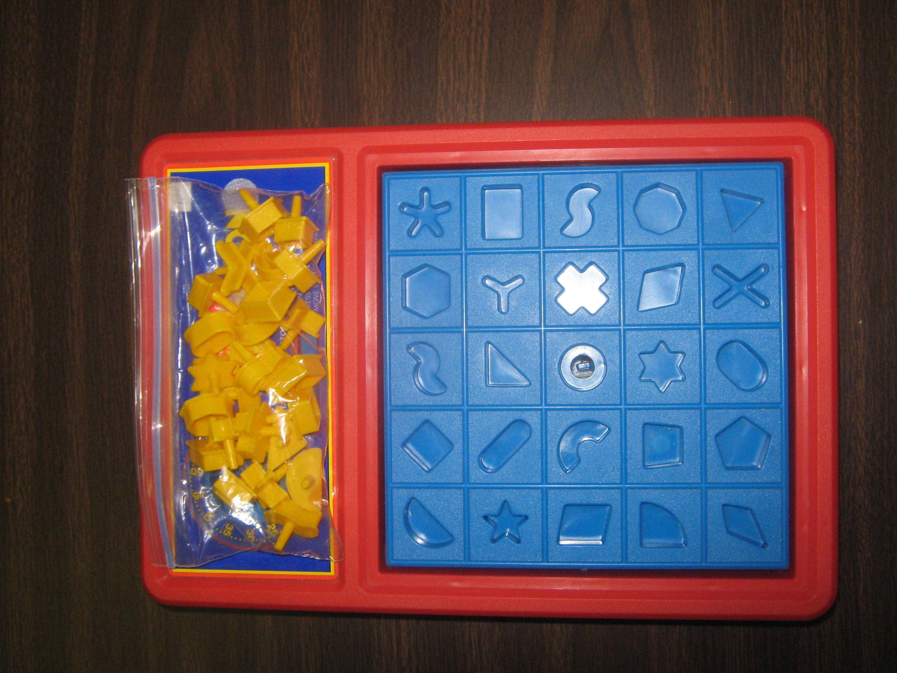 Perfection Game Untimes For Shape Matching