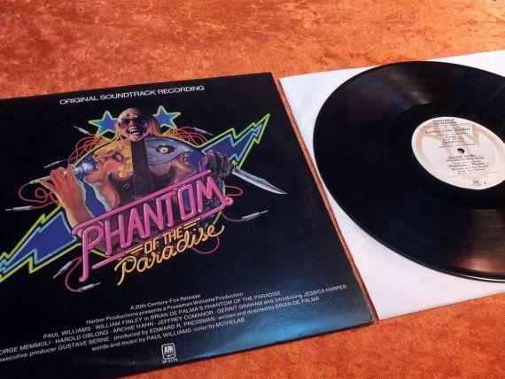 Very Rare Phantom Of The Paradise Vinyl Record Album