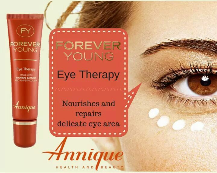 Annique Forever Young Eye Cream. Helps to reduce wrinkles and fine lines around the eyes.