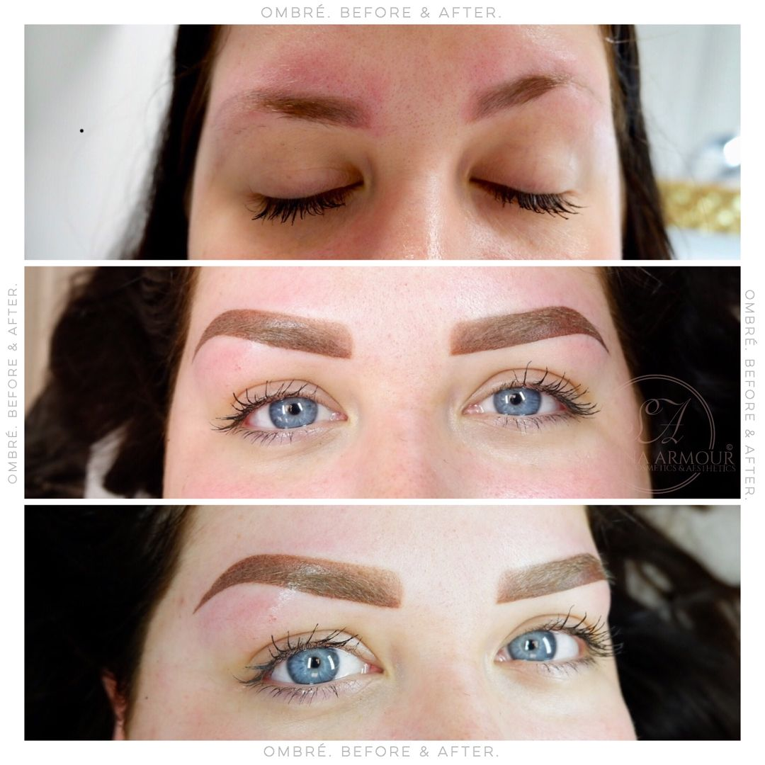 Previous work not mine🚫 got to love these ombré eyebrows