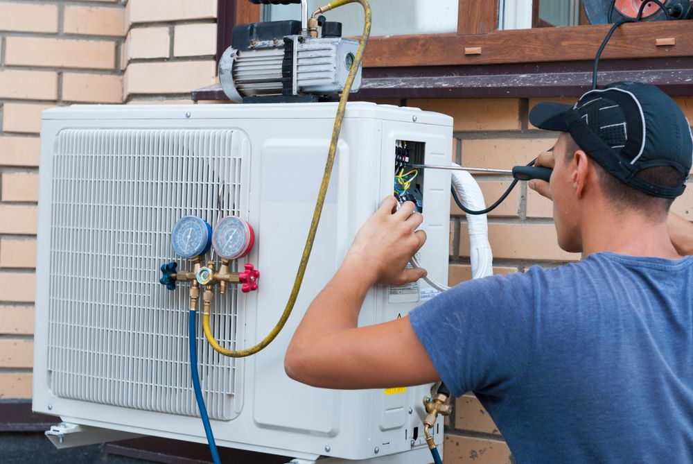 Heat and Air Service in OKC in 2020 Air conditioner