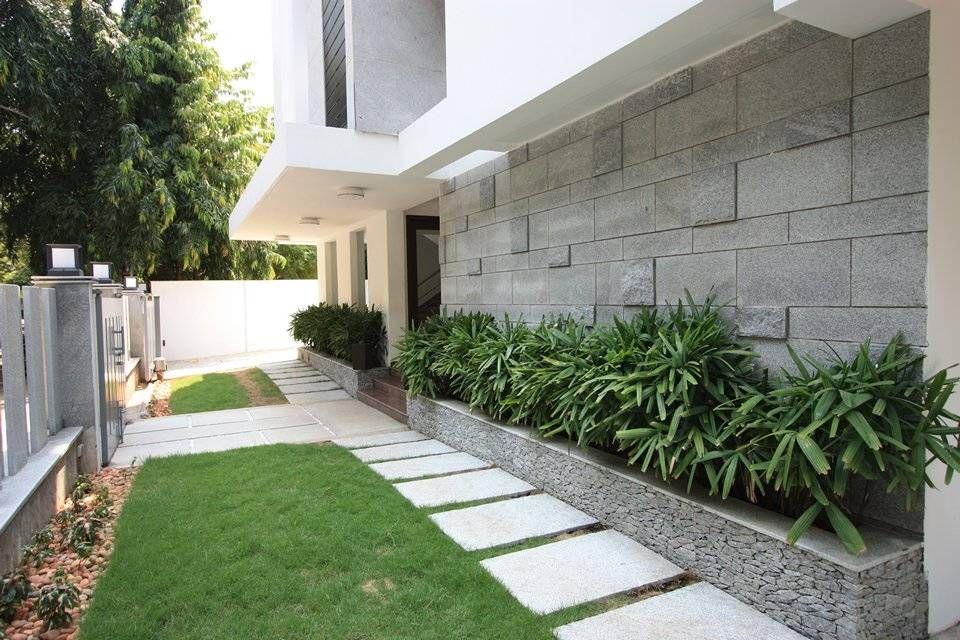 8 ideas de jardineras para patios modernos Patio moderno - jardineras modernas