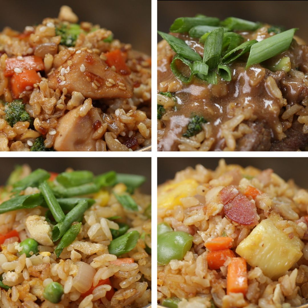 4 ways to make fried rice by tasty food for the soul 4 ways to make fried rice by tasty ccuart Images