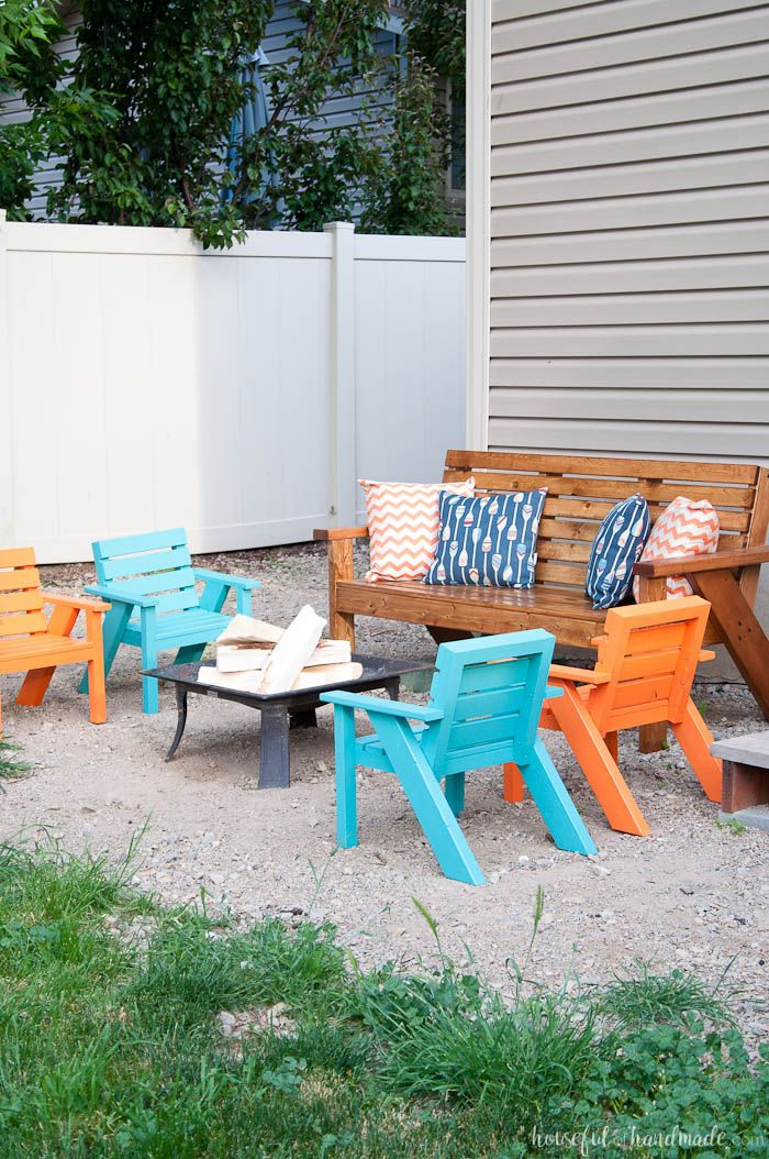 easy diy kids patio chairs hometalk fall diy inspiration rh pinterest it
