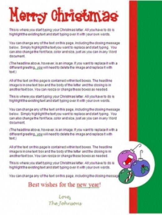 Creative Christmas Letter Ideas Christmas Lettering Christmas Letter Template Christmas Letter Papers